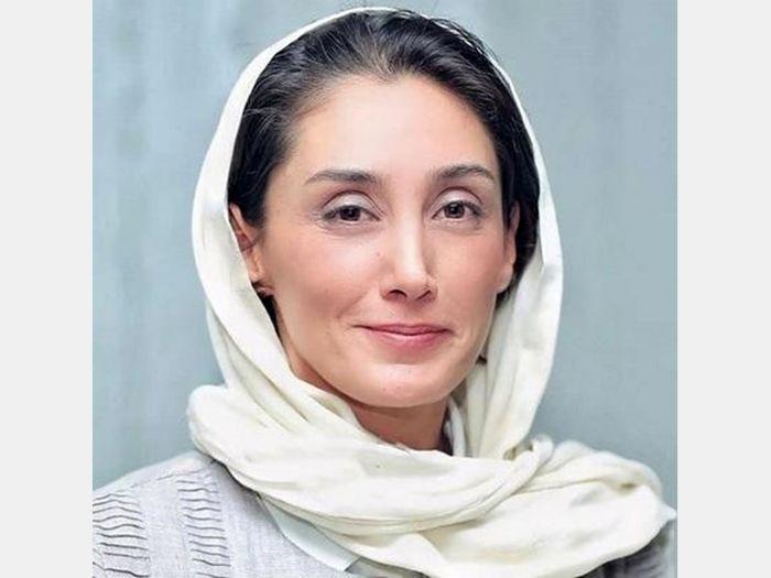 هدیه تهرانی در حال گریم با یک همگناه / ببینید