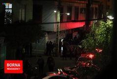 درگیری مسلحانه خونین در تهران/3 نفر از شهروندان مجروح شدند/تخریب چندین خودرو در حاشیه خیابان