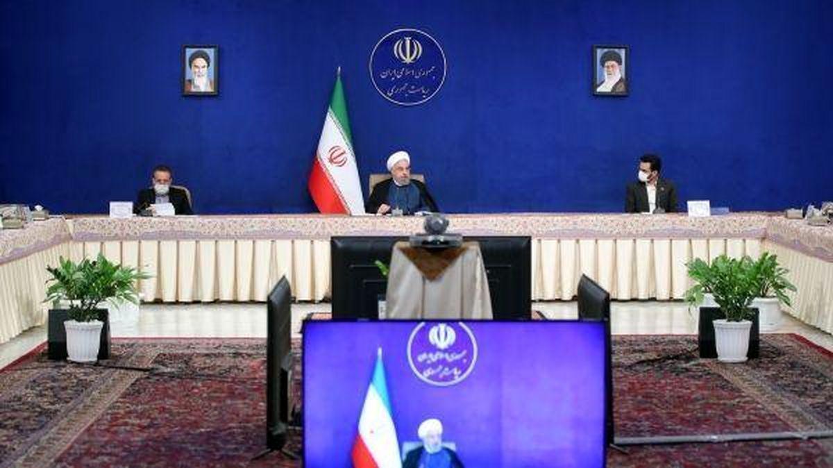 روحانی طرحهای ملی وزارت راه و شهرسازی را در سراسر کشور افتتاح کرد