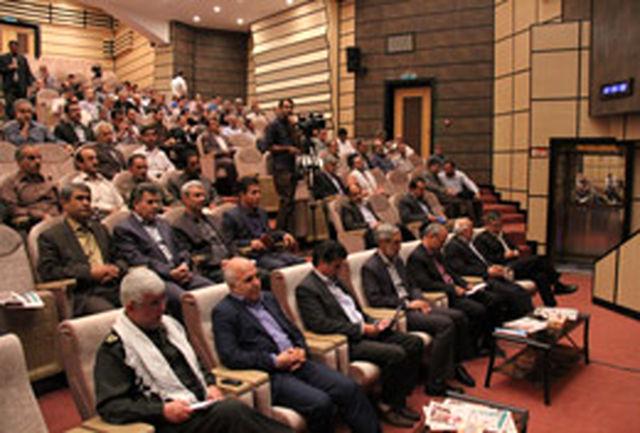 همایش ایثارگران صنعت آب و برق استان همدان
