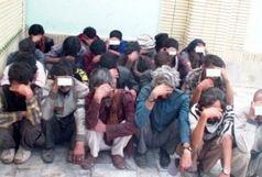 دستگیری 16 خرده فروش موادمخدر و معتاد متجاهر در نیکشهر