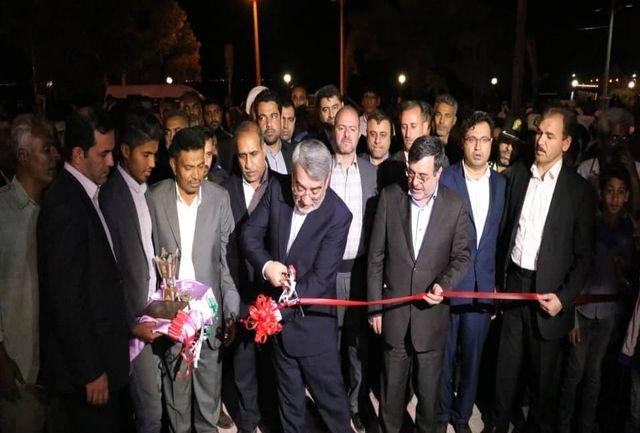 هتل سه ستاره جزیره هرمز با حضور وزیر کشور و استاندار هرمزگان افتتاح شد