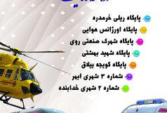 اولین پایگاه اورژانس ریلی کشور و ۶ پروژه فوریتهای پزشکی استان زنجان افتتاح میشود