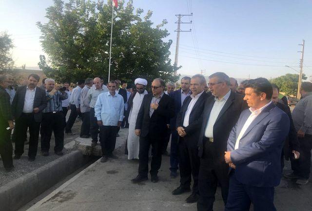 دو پروژه عمران روستایی در بخش تسوج از توابع شهرستان شبستر افتتاح شد