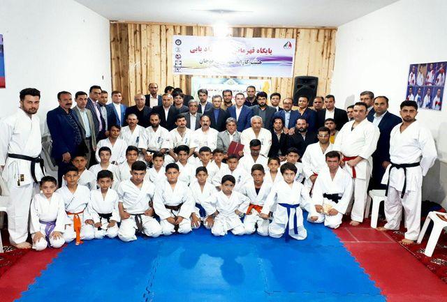 خانه کاراته شهرستان قوچان افتتاح شد