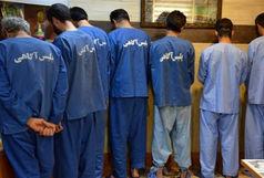 دستگیری ۷ متهم با ۷ اسلحه غیر مجاز