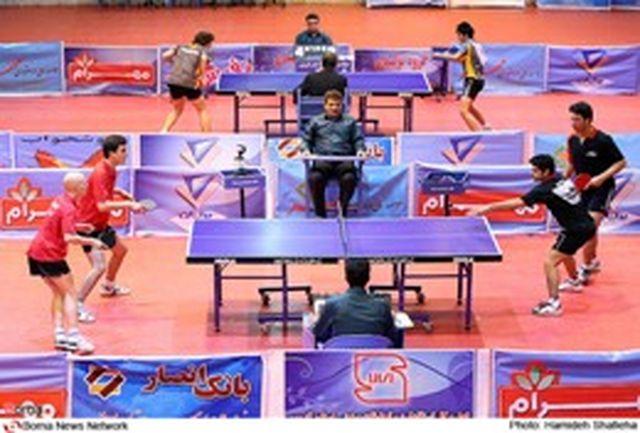 حنطه در صدر امتیاز بندی مسابقات دوره ای تنیس روی میز جوانان جهان