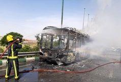 جزییات جدید از آتش سوزی اتوبوس در مسیر تبریز