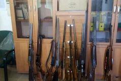 کشف 128 قبضه سلاح در تهران