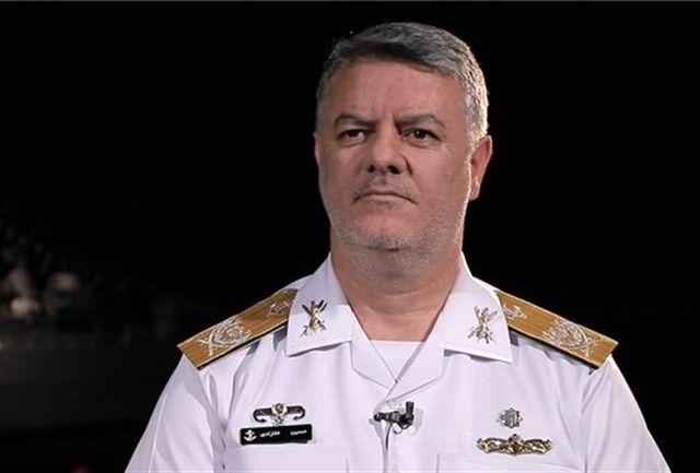 فرمانده نیروی دریایی ارتش از تیپ سوم تکاوران دریایی حمزه سیدالشهدا (ع) بازدید کرد