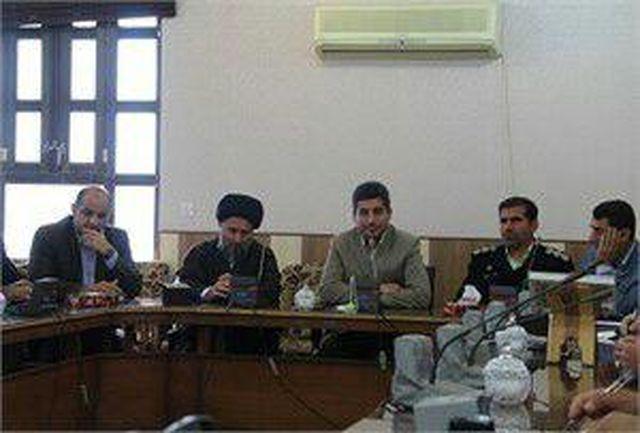 جلسه شورای نامگذاری خیابانها ،کوچه ها،اماکن و موسسات عمومی در شهرستان ایذه