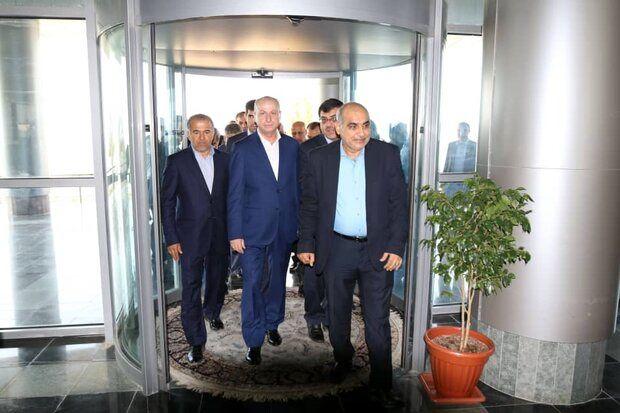 ورود وزیر نفت و منابع معدنی سوریه به عسلویه