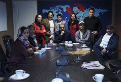 عوامل سریال شبکه 2  مهمان خبرگزاری برنا