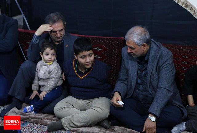 حضور وزیر رفاه در میان کودکان اردیخانی/ ببینید