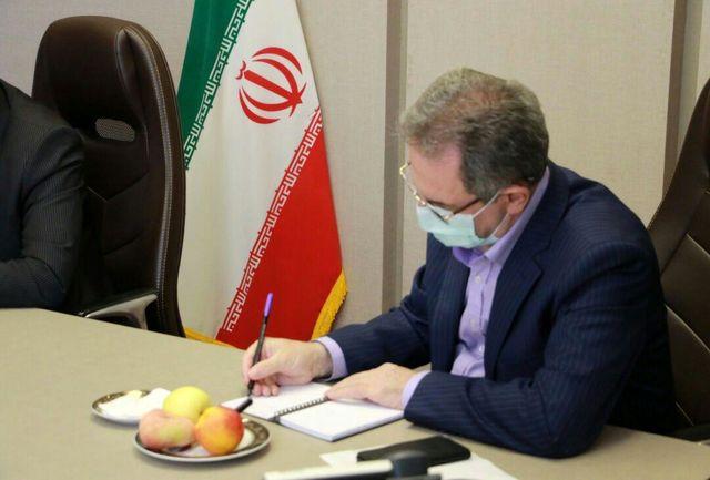پیام تسلیت استاندار تهران به مناسبت درگذشت جانباز سرافراز زنده یاد علیخانی