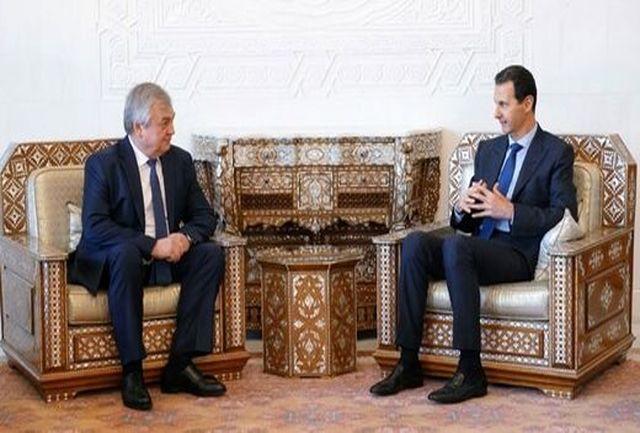 درخواست تازه بشار اسد از روس ها