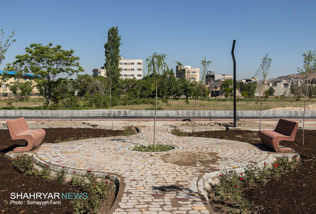 پارک حیدربابا، چهل و پنجمین گام شهرداری تبریز در راه احیای باغشهر