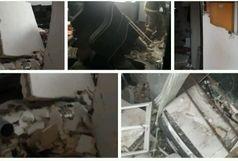 انفجار گاز در صومعه سرا