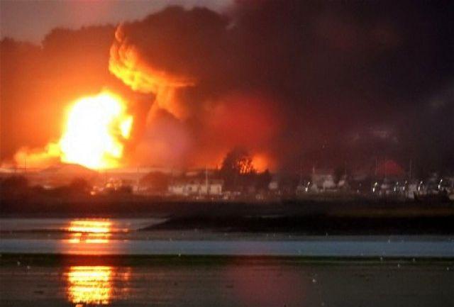 جزئیات انفجار تانکر حمل کپسول گاز کلر در ایلام