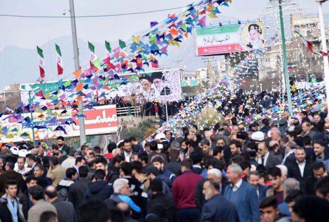 حضور حماسی مردم لرستان در شکوه بی نظیر راهپیمایی 22بهمن