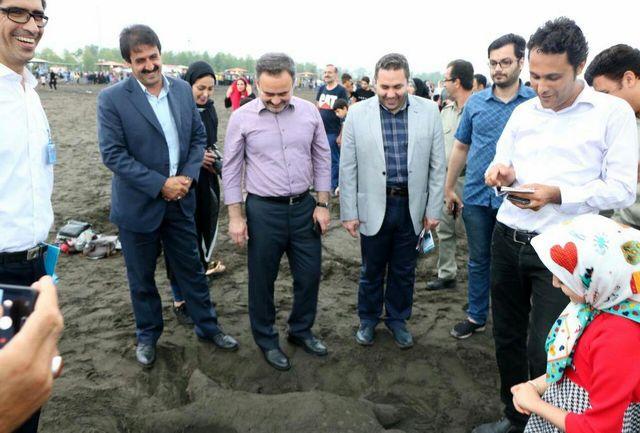 سومین جشنواره روز جهانی دریای کاسپین در لاهیجان برگزار شد