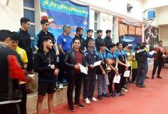 عنوان سومی پینگ پنگ بازان پسر قم در مسابقات دسته اول کشور