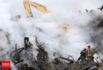 آتشسوزی و ریزش ساختمان پلاسکو - 30 دی 1395