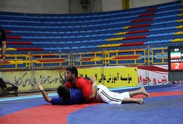 قهرمانی گلستان الف در رقابت های کشتی آلیش قهرمانی کشور