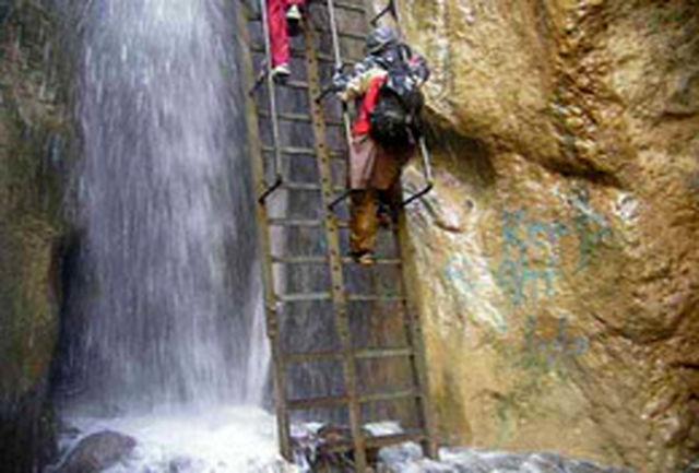 آبشار قره سو در استان خراسان رضوی