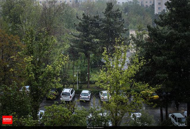 آسمان تهران امروز نیمه ابری است/ سامانه بارشی وارد کشور می شود