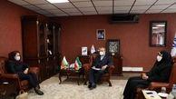 دیدار سفیر بلغارستان با وزیر ورزش و جوانان