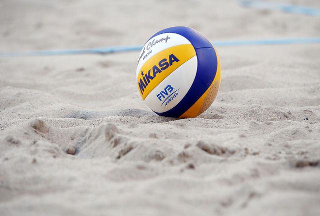 حضور سه گلستانی در اردوی تیم ملی والیبال ساحلی ناشنوایان در بندر انزلی