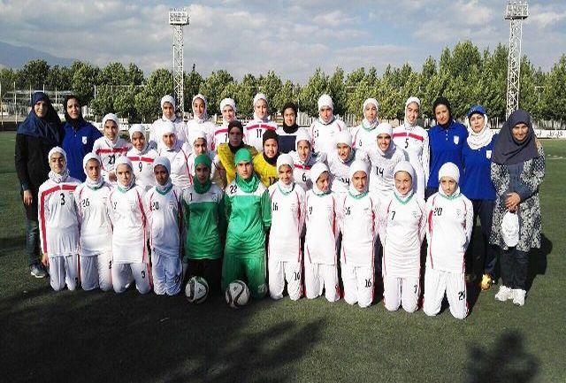 پایان اردوی تدارکاتی تیم ملی فوتبال دختران نوجوان