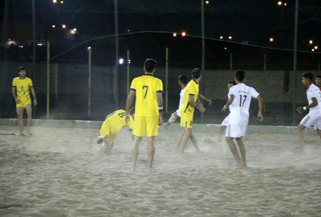 سمنان میزبان دور رفت مرحله نهایی لیگ برتر فوتبال ساحلی شد