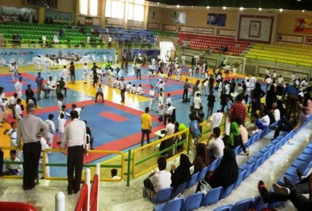 افتخار آفرینی کاراته هرمزگان در مسابقات کشوری