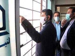 افتتاح بخش سی تی اسکن بیمارستان سینا شهرستان کارون خوزستان