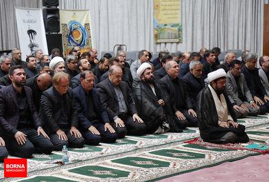 برگزاری مراسم سوگواری حضرت اباعبدالله الحسین علیه السلام در وزارت ورزش و جوانان/ ببینید