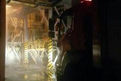 آتش سوزی در شرکت نئوپان فومن