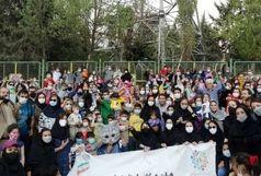 جشنواره ورزشی کودکان حرکت از نو با حضور کودکان استان تهران