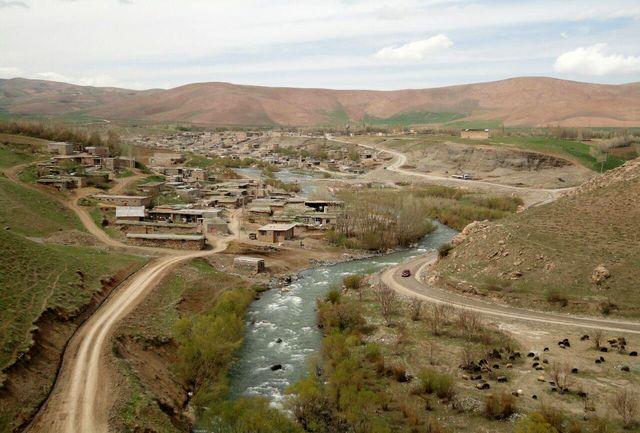 روستای تاریخی تنگ قیر (متعلق به دوره اشکانیان) روستای هدف گردشگری
