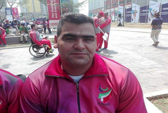 محمدیان: مدالم را به شهدای حادثه تروریستی اهواز تقدیم میکنم