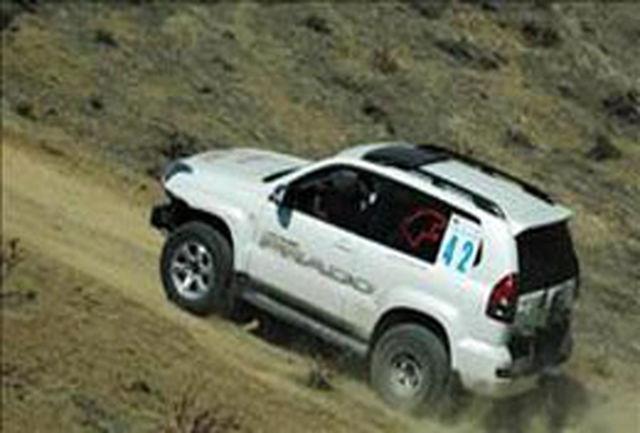قهرمانی تیم اتومبیلرانی دو دیفرانسیل مازندران در مسابقات کشوری