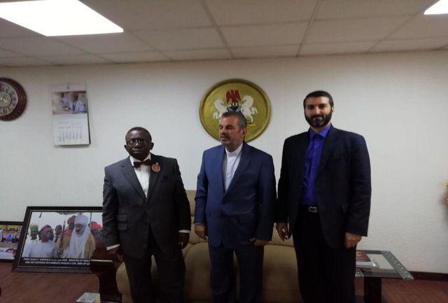 تسلیم پیام وزیر بهداشت به همتای نیجریهایاش