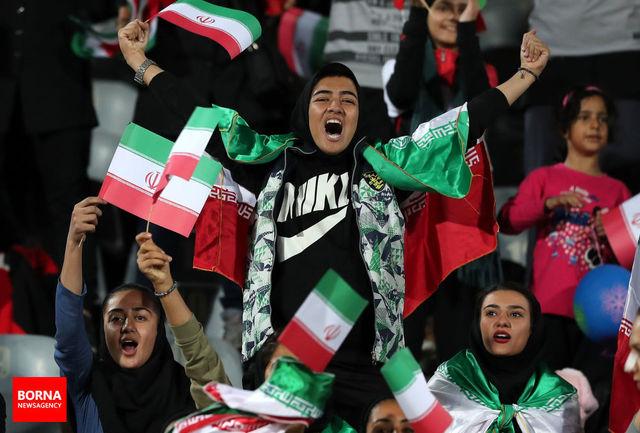 کار وزارت ورزش و جوانان برای حضور بانوان در استادیوم آزادی با ارزش است