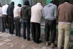 کشف 18 فقره سرقت و دستگیری 8 نفر سارق