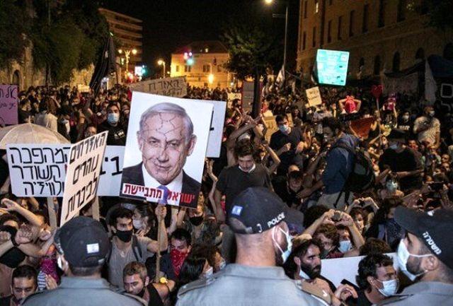 آغاز دور جدید اعتراضات مردمی علیه دولت مستقر+ عکس