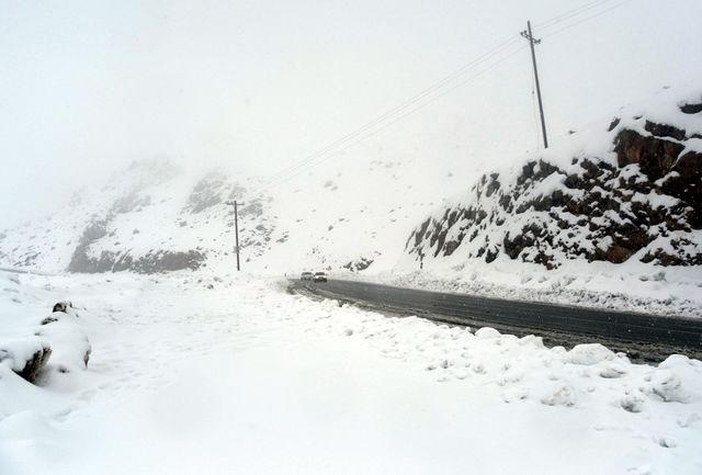 محور توسکستان در استان گلستان مسدود شد