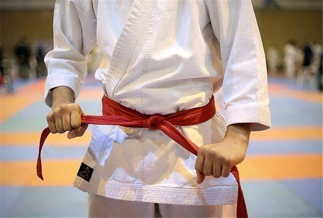 رقابتهای انتخابی تیم ملی کاراته برگزار شد