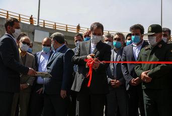 افتتاح فاز نخست تقاطع آزادگان با حضور معاون اول رئیس جمهوری