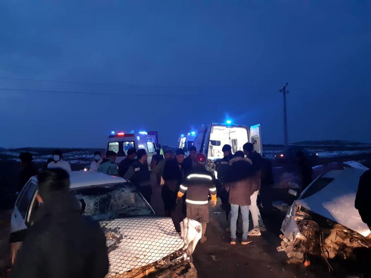سانحه رانندگی در محور مرند-جلفا، ۵ مصدوم برجای گذاشت